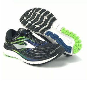 Brooks Mens Glycerin 15 Black Running Shoes Sz 8 D